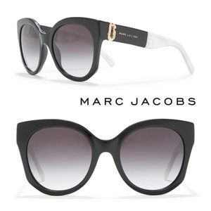 MARC JACOBS Rounded Cat Eye Sunglasses 53mm NWOT